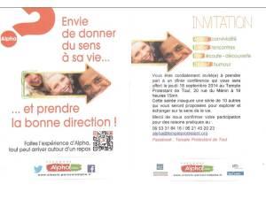 Invitation Parcours Alpha