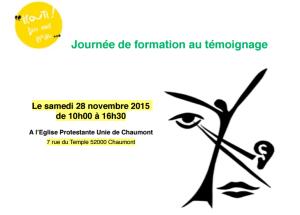 Chaumont, le 28 novembre 2015