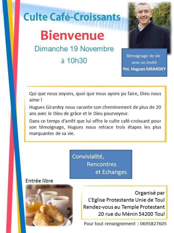 thumbnail_Affiche Culte Café Croissant du 19 nov à Toul